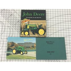 LOT OF JOHN DEERE BOOKS