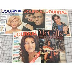 1960S 70S MAGAZINES JOURNAL AND MCCALLS