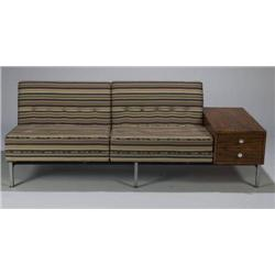 George Nelson Modular Seating Unit with drawer ta