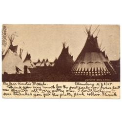 Blackfoot Encampment.