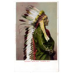6 colored lithographs of chiefs.
