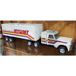 VINTAGE NYLINT PRESSED STEAL SEMI TRACTOR/TRAILER