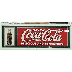 DRINK COCA COLA TIN SIGN