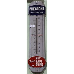 1940'S PRESTONE ANTIFREEZE THERMOMETER
