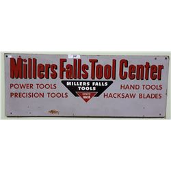 VINTAGE MILLERS FALLS TOOL SIGN