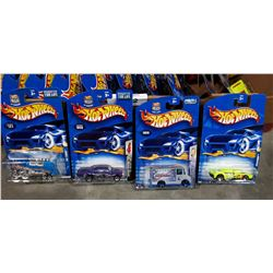 LOT OF 40 NIP HOTWHEELS DIE CAST CARS