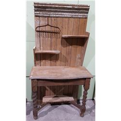 RUSTIC ONE OF A KIND, FARMHOUSE STAND