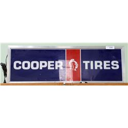 ORIGINAL COOPER TIRES BACKLIT HANGING SIGN