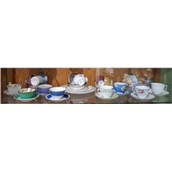 SHELF LOT COLLECTIBLE CHINA