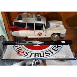 GHOSTBUSTERS AMBULANCE & WINDOW SHADE