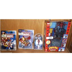 4 COLLECTIBLE ACTION FIGURES