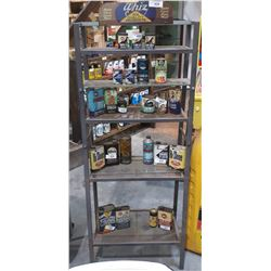 WHIZ METAL OIL RACK