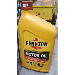 PENNZOIL MOTOR OIL CURB DISPLAY