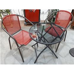 3 PC PATIO BISTRO SET