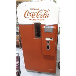 1950'S COCA COLA VENDO 39 POP MACHINE