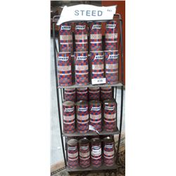 STEED METAL DISPLAY STAND