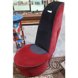 FUNKY HIGH HEEL BOUDOIR CHAIR