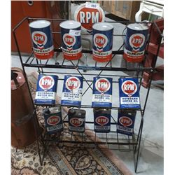 RPM OIL RACK