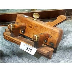 EARLY 1900'S MOULDING PLANE