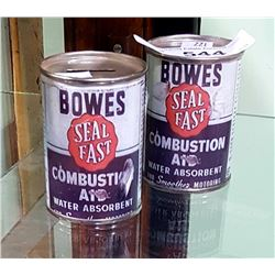 2 BOWES SEAL FAST COIN BANKS 4OZ