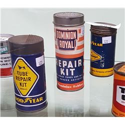 3 VINTAGE GOODYEAR & DOMINION ROYAL TIRE REPAIR KITS