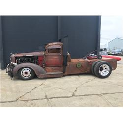 FRIDAY NIGHT 1938 DODGE 1 TON DUALLY CUSTOM RAT ROD