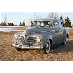 NO RESERVE 1941 DODGE LUXURY LINER