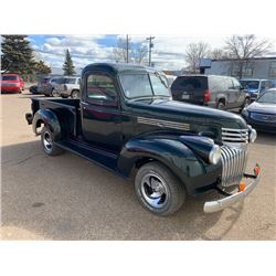 NO RESERVE 1946 CHEVROLET PICKUP CUSTOM