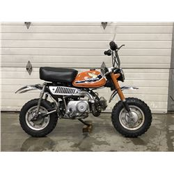 FRIDAY NIGHT! NO RESERVE 1977 Z50 HONDA VINTAGE TRAIL BIKE