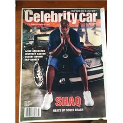 NO RESERVE 12:30PM SATURDAY FEATURE CELEBRITY OWNED SHAQ 2004 MERCEDES BENZ CLK 500