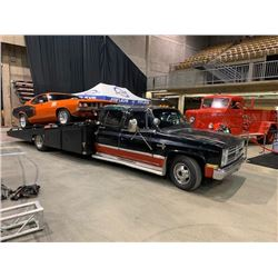 FRIDAY NIGHT! 1985 CHVEROLET I TON DUALLY CLASSIC RAMP TRUCK 454 BIG BLOCK 91000 ACTUAL MILES