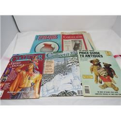 LOT OF 5 MAGAZINES (ANTIQUE PRICE GUIDES) *1987 TO 1994*