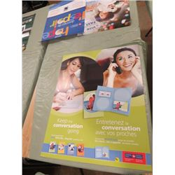 "CANADA POST POSTER (KEEP THE CONVERSATION GOING) *22"" X 28""* ( 2 SIDED)"