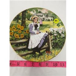 NUMBERED COLLECTOR PLATE (ANNE OF GREEN GABLES) *LTD EDITION*