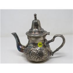 SILVER COFFEE POT (MARKED) *STERLING?, SILVER PLATE?*