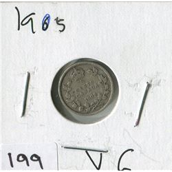 1905 CNDN SMALL NICKEL (SILVER)