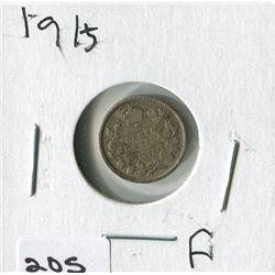 1915 CNDN SMALL NICKEL (SILVER)