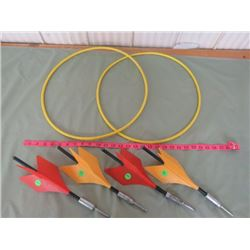 ORIGINAL COMPLETE SET LAWN DARTS