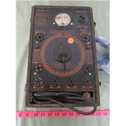 ONFIDENCE AUTOMATIC TUBE TESTER WITH OPERATING INSTRUCTIONS (WORKS)