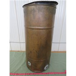 "COPPER ""MASH BOILERPOT"" FOR WHISKEY STILL 20 GALLON CAPACITY. 29.5 INCHES HIGH BY 14.5 DIAMETER"