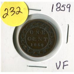 1859 CNDN LARGE PENNY