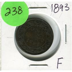 1893 CNDN LARGE PENNY
