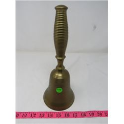 SCHOOL BELL BRASS 11 INCHES