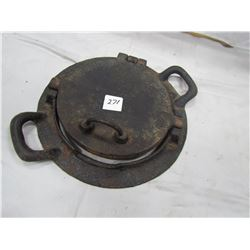 CAST IRON CREPE MAKER (VERY GOOD CONDITION)