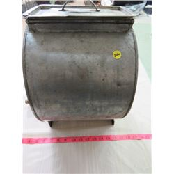 METAL BUTTER CHURN (COMPLETE)