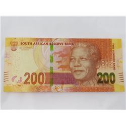 PAPER CURRENCY (SOUTH AFRICA) *200 RAND, CAT VAL $60*