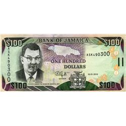PAPER CURRENCY (JAMAICA) *$100*