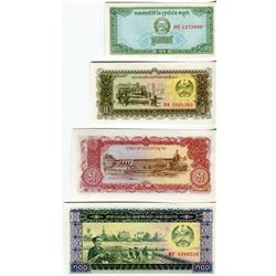 PAPER CURRENCY (LAOS) *LOT OF 4 DIFFERENT*
