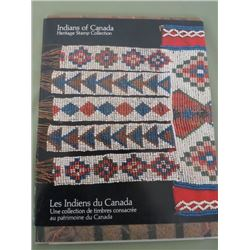 LOT OF 5 (CANADA INDIANS FROM VARIOUS PARTS OF CANADA) *4 BOOKS, 1 BOOKLET*
