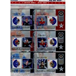 STAMP CARDS (CANADA POST NHL 2002 ALL STARS) *SERIES 3*